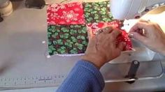 How to make a pot holder in minutes, via YouTube.