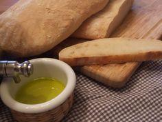 Classic Ciabatta Bread using whey.