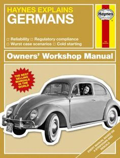Haynes Explains The Germans #Haynes