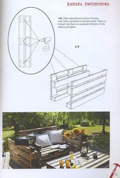 Meble z palet do domu i ogrodu - Dzięki książce Meble z palet do domu i ogrodu zapoznasz