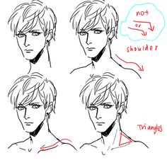 Anonymous said: ahh im sorry if youve gotten this before but could you do a tutorial on how the head connects to the neck/neck connects to the shoulders?? i saw a small tutorial on shoulders but it...