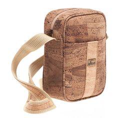 Kork Umhängetasche «Cross» Montado – Nachhaltige Korktaschen Fashion Backpack, Backpacks, Bags, Leather, Vegan Handbags, Notebook Bag, Fanny Pack, Pocket Wallet, Handbags