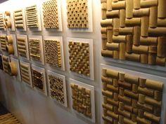 Revestimentos de Bambu.