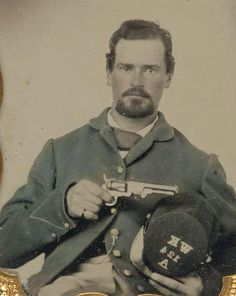 In remembrance of the Union and Confederate soldiers who served in the American Civil War, the Liljenquist Family donated their rare collection of over 700 ambrotype and tintype photographs to the Library of Congress. Most of the people and photographers are unidentified. If you recognize a face from your family, a regiment, or a photographer's painted studio backdrop, e-mail the Library of Congress at mylocfeedback@loc.gov.