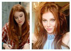 elçin sangu parlak bakır saç rengi