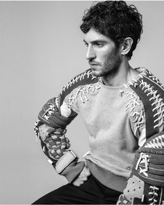Quim Gutiérrez by Nacho Pinedo in Givenchy Homme