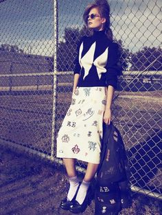 School Girl Fashion Trend - Fall 2012 Fashion Trends - Marie Claire