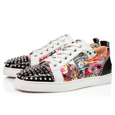 Louboutin Online, Red Sole, Timeless Fashion, Grosgrain, Black Suede, Casual Shoes, Calves, Men's Shoes, High Tops
