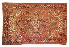 "Antique Persian Heriz, 11'10"" x 8'5"" on OneKingsLane.com"