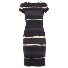 Buy Phase Eight Annika Ombre Dress, Grey/Navy Online at johnlewis.com