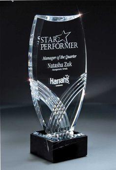 Accent Awards - Hallmark Acrylic Award, 2 sizes available, $99.00 (http://www.accentawards.org/hallmark-acrylic-award-2-sizes-available/)