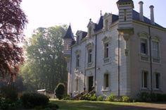 century chateau in France with fairytale turrets. Beautiful Buildings, Beautiful Homes, Stay In A Castle, French Chateau, France, Filming Locations, French Decor, My Dream Home, Wonders Of The World