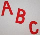 How to Make Alphabet Refrigerator Magnets: Alphabet Refrigerator Magnets