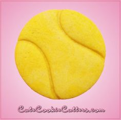 9bfb8f6ca Detailed Tennis Ball Cookie Cutter by Cheap Cookie Cutters. Our detailed  tennis ball cookie cutters