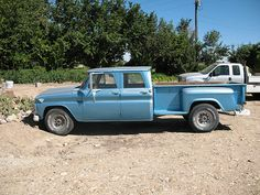 1964 GMC 1 ton crew cab truck by styleliner51, via Flickr