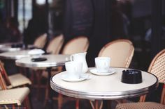 Parisian café, photo by Carin Olsson