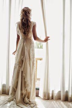Una de las creaciones para novia de Teresa Palazuelo - Foto: Momenta Bodas