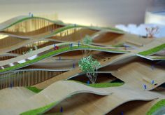 Discover recipes, home ideas, style inspiration and other ideas to try. Landscape Model, Urban Landscape, Landscape Design, Landscape Architecture Model, Green Architecture, Concept Architecture, Architecture Design, Architecture Diagrams, Arch Model
