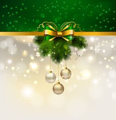 free vector Christmas decoration background 04 vector