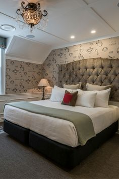 The Residence, The George, Christchurch NZ Luxury Accommodation, Event Venues, Villa, Bedroom, Furniture, Home Decor, Decoration Home, Room Decor, Bedrooms