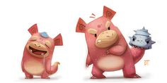 Digital Artist Creates Adorable Redesigned Pokemon Characters by Piper Thibodeau