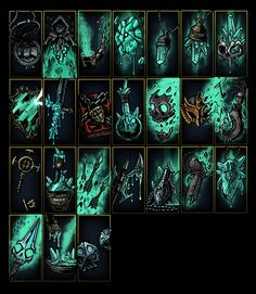 ArtStation - Darkest Dungeon: Color of Madness Trinkets, Marvin Seo Darkest Dungeon, Game Ui Design, Background Drawing, Fantasy Setting, Medieval, Fantasy Artwork, Dark Fantasy, Dark Art, Sleeve Tattoos