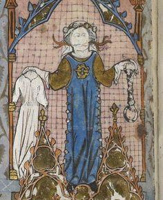 La Somme le roi, Франция 13в Medieval Fashion, Medieval Dress, Medieval Clothing, British Library, Middle Ages Clothing, Chateau De Blois, Saint Esprit, Medieval Wedding, Mystique