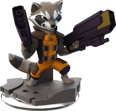 rocket raccoon movie figure - Google Search