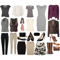 """""""{Capsule Wardrobe Assignment 2.0}"""" by jillianbowen on Polyvore"""