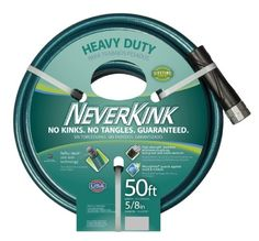 NeverKink 861550 Series 2000 Ultra Flexible Garden Hose 58Inch by 50Feet -- Continue to the product at the image link.