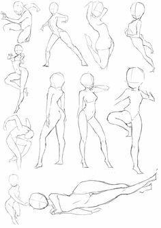 ジャンプする女の子のポーズ集 Character Designs In 2019 イラスト