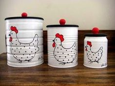Coffee Can Crafts, Tin Can Crafts, Jar Crafts, Bottle Crafts, Home Crafts, Diy Home Decor, Diy And Crafts, Kids Crafts, Room Decor