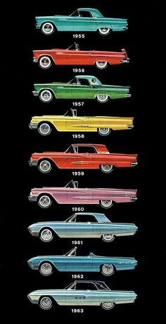 It's so radical to look back on how cars have changed over the years.