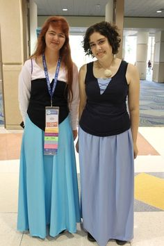 Ariel and Ursula from The Little Mermaid   36 Delightfully Geeky Cosplays From LeakyCon