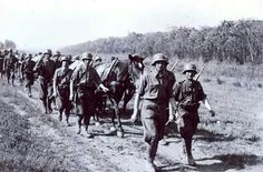 Infantry on march