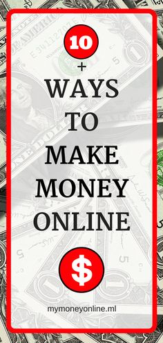 10+ ways to make money online fast. Learn more about how to earn extra cash free. I give you some ideas how to start today.