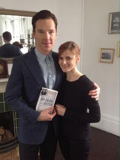 Louise Brealey with Benedict Cumberbatch reading love letters from My Dear Bessie. Sherlock Cast, Sherlock Fandom, Sherlock Holmes, Benedict Cumberbatch Movies, Louise Brealey, Sherlolly, Beautiful Love Stories, 221b Baker Street, Dreams