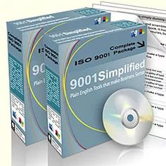 ISO 9001 Complete Package - Complete ISO 9001 kit for Beginners