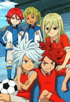 Xavier, Torch, Gazelle, Byron e Jordan Me Anime, Cute Anime Guys, Anime Manga, Inazuma Eleven Axel, Byron Love, Chibi, Photo Images, Dibujos Cute, Boy Art