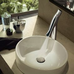 Discover AXOR Starck Organic, a luxury bathroom collection signalling a breakthrough in sustainable design, created in collaboration with Philippe Starck. Philippe Starck, Axor Starck, Interior Design Shows, Mixer Shower, Bathroom Taps, Bathroom Collections, Duravit, Basin Mixer, Bathroom Inspiration