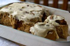 Margaret's Dish: Vanishing Cinnamon Rolls