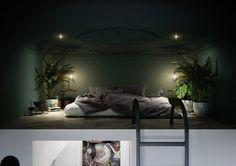lägenhet med konst