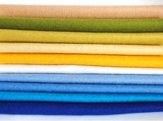 100% Wool felt sheets - 'Dune' Collection Cloud Craft, Felt Sheets, Dune, Color Inspiration, Wool Felt, Colours, Pure Products, Colour Palettes, Crafts