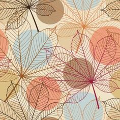 Leaves background Vector background - Free vector for free download