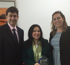 Revista El Cañero: Magaly Toribio recibe reconocimiento.