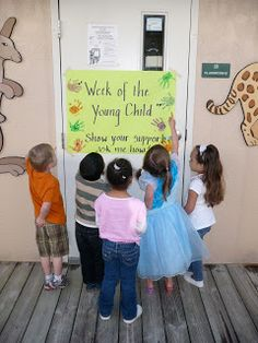 """Centers and Circle Time: 10 Preschool Ideas for """"Week of the Young Child"""" Preschool Crafts, Preschool Ideas, Teaching Ideas, Daycare Ideas, Preschool Centers, Teaching Time, Preschool Literacy, Toddler Crafts, Teacher Must Haves"""