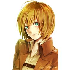 Armin Arlert ❤ liked on Polyvore featuring anime and attack on titan