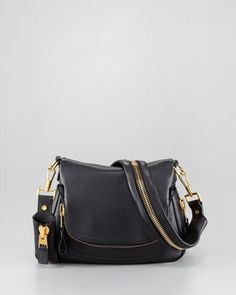 ♥ I want this! ♥ Small Jennifer Flap-Top Messenger Bag by Tom Ford at Bergdorf Goodman. $2,990.00