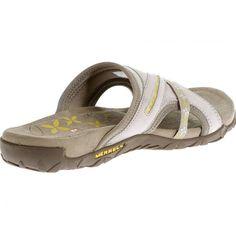 dfc044ab1b9 Merrell Women s size US 9 EU 40 Silver Lining Slides Sandal Shoes Flip Flops