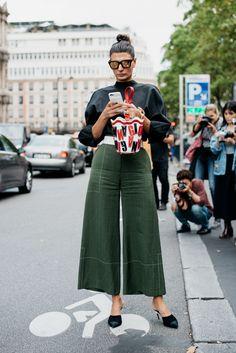 SS17 Paris Fashion Week Street Style - September 2016